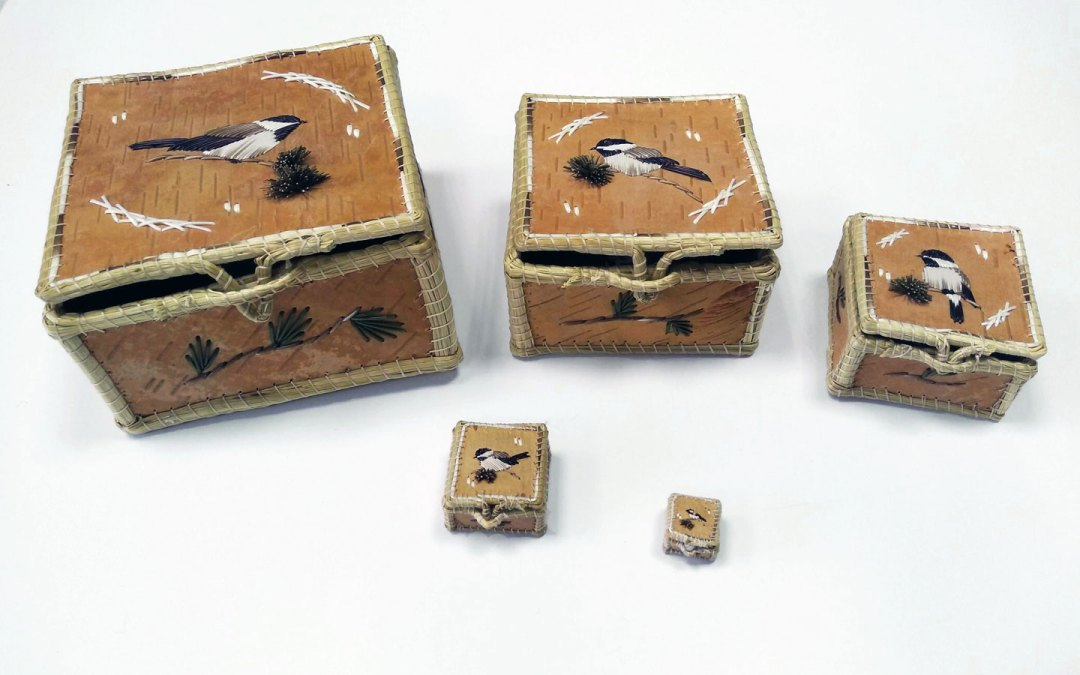 Set of Nesting Boxes