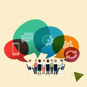 """la communication interne '""""horizontalise"""" les organisations"""
