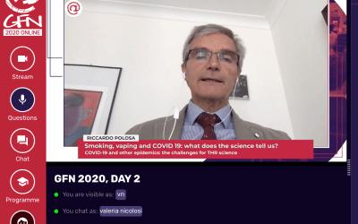 """GFN 2020 – Polosa: """"non è probabile che il vaping aumenti il rischio di infezione"""""""