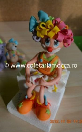 Figurina Clown din martipan oradea