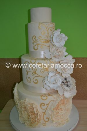 Macheta de tort cu flori oradea (1)