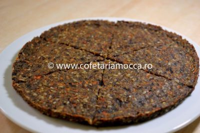 Blat de pizza raw vegan