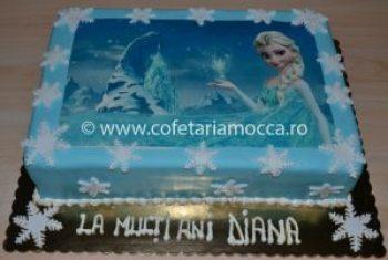 Tort cu poza Frozen