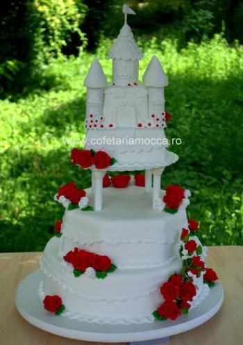 Tort mireasa castel Oradea
