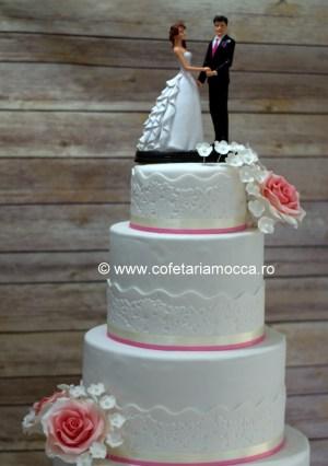 macheta nunta cu flori