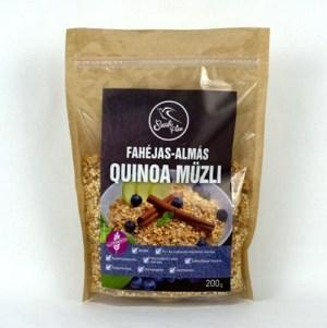 Musli de quinoa cu mere si scortisoara