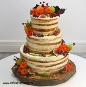 tort nunta naked cake toamna 07