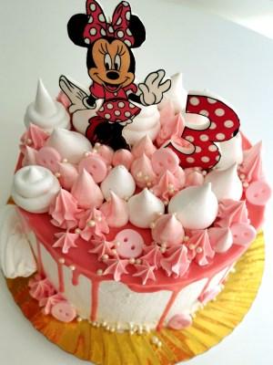 Tort Fantezie Minnie Mouse