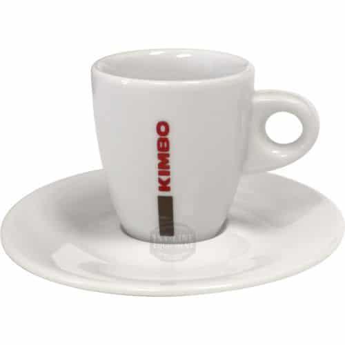 Φλυτζάνι καφέ Kimbo espresso πορσελάνη με πιατάκι 1 τεμάχιo