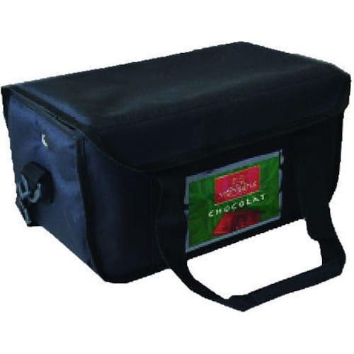 Ισοθερμική τσάντα καφέ 8 θέσεων μαύρη