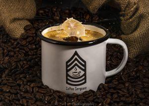 Kaffeebecher Emaille