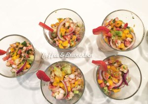 Brunch mejicano sin gluten en casa de Lucy-WithLocals-Ceviche tropical