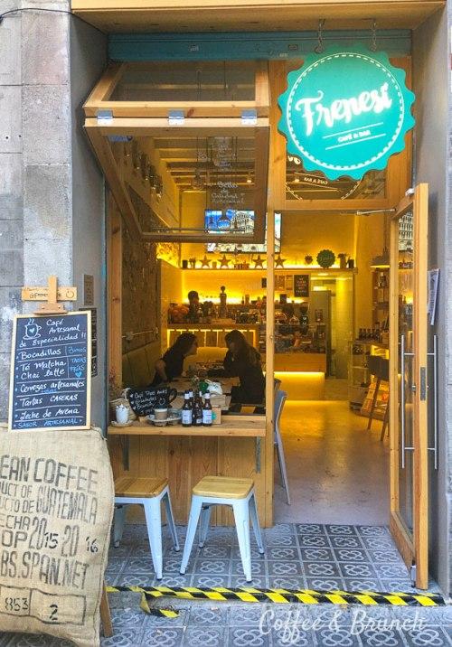 Cafetería con Wi-Fi en Barcelona - Frenesí
