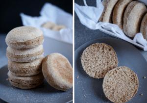 Receta de brunch - Muffins ingleses saludables