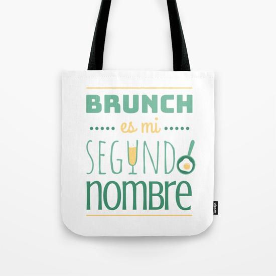 Bolsa durable de calidad - Brunch es mi segundo nombre