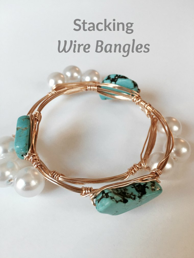 How-to: Stacking Wire Bangles