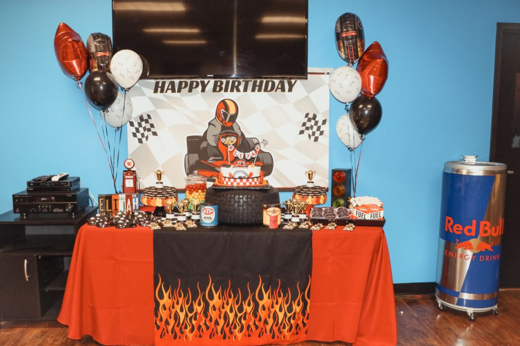 The Ultimate Go Kart Racing Birthday Party
