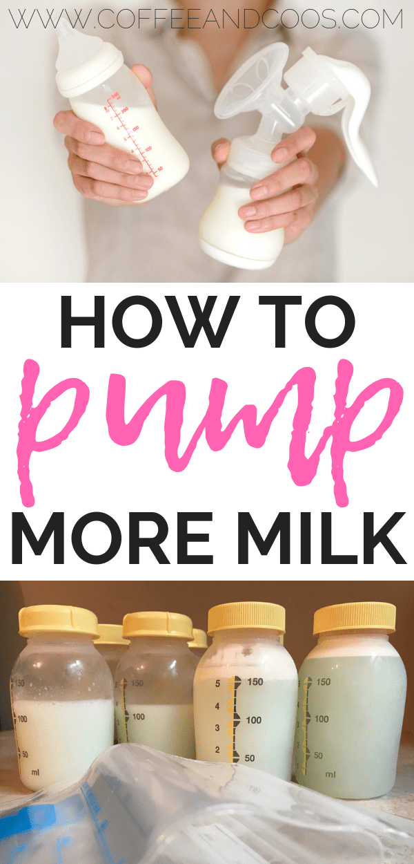 How to Pump More Milk