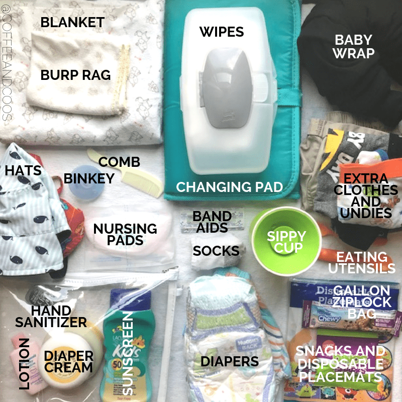 diaper bag list