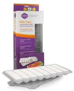milk trays for milk storage