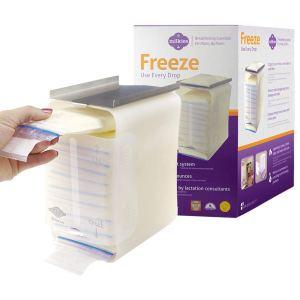 best milk storage bag to save space