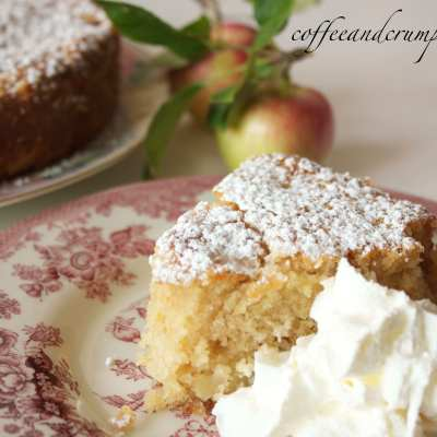 Apple and Rhubarb Cake