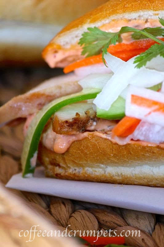 Banh Mi Ga Vietnamese Chicken Sandwich
