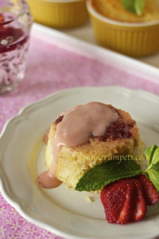 strawberry rhubarb pudding1