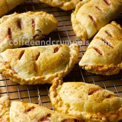 Apple Rhubarb Hand Pies | Father's Day