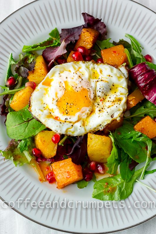 Butternut Squash and Sweet Potato Salad-5