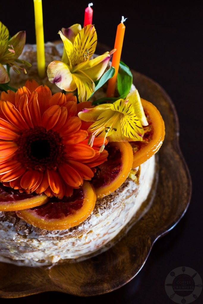 Blood Orange Torte