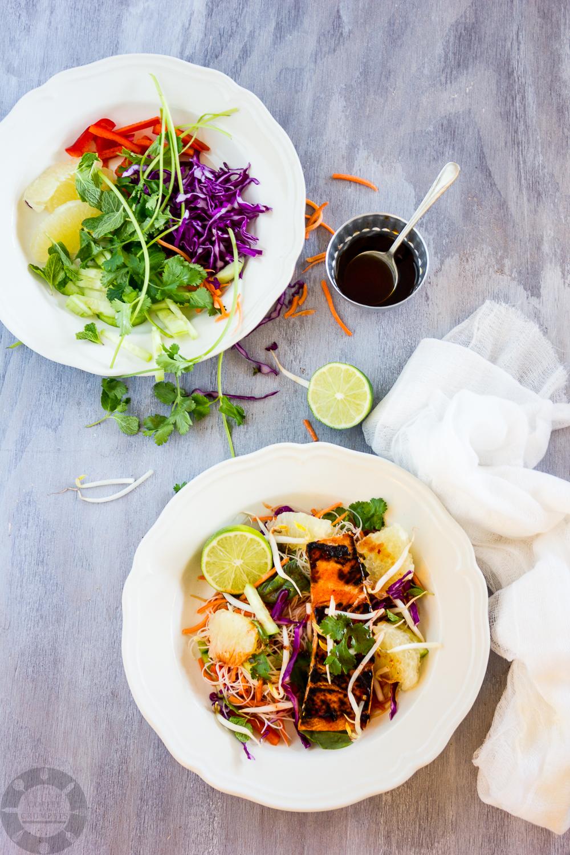 Salmon Noodle Salad