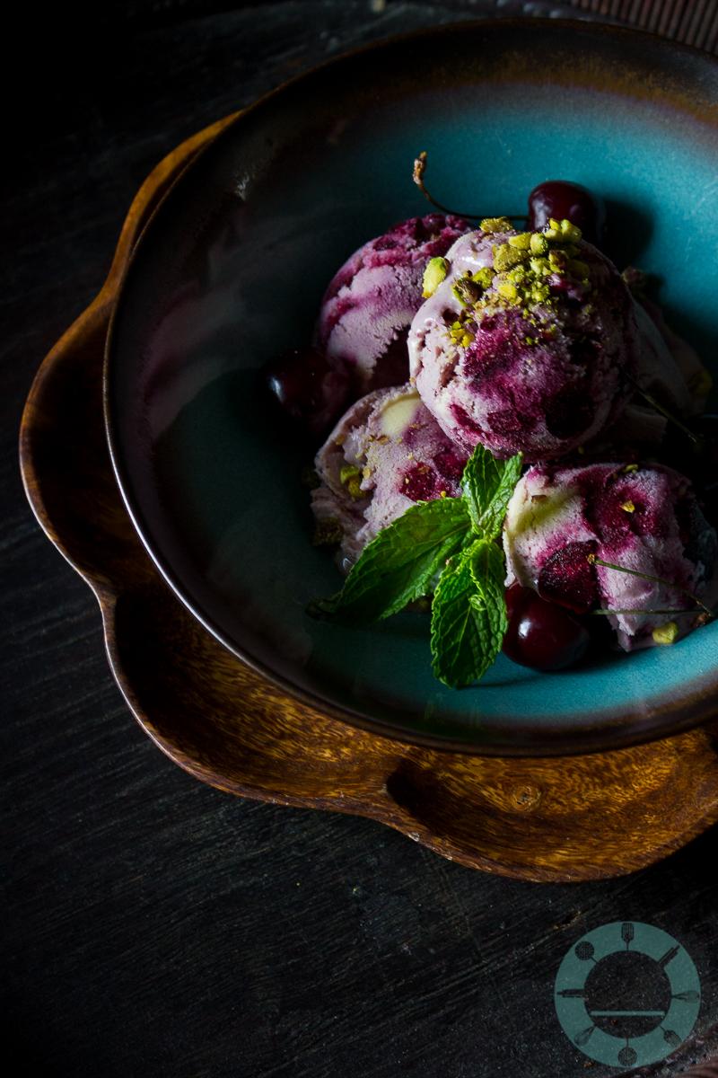 Cherry Cardamom Ice