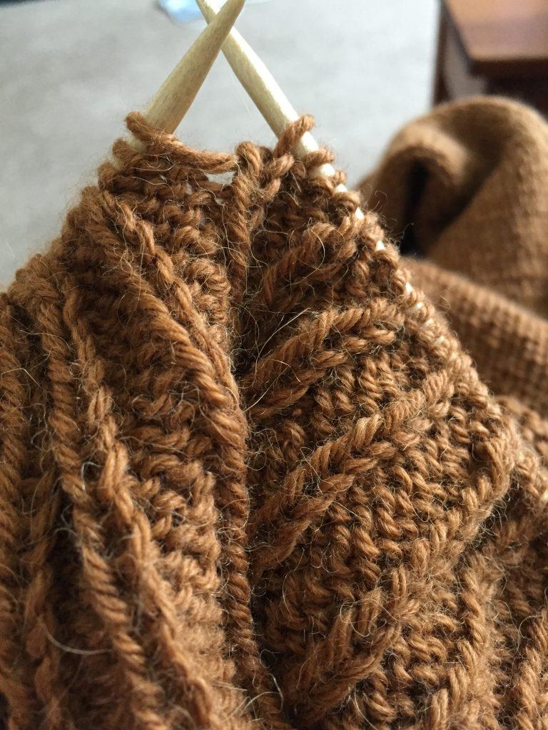Glacier Cardigan - The Knitting Up Close