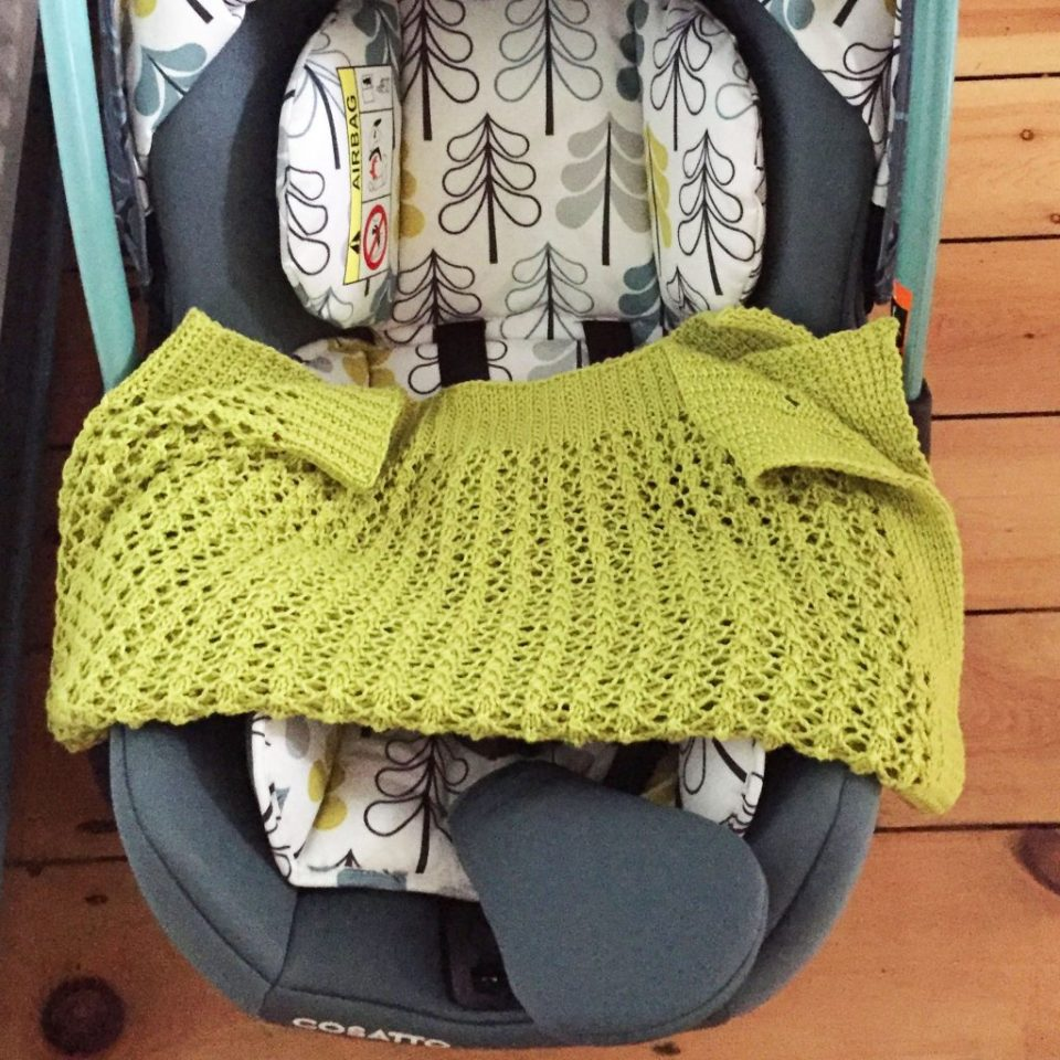 Blanket and Car Seat