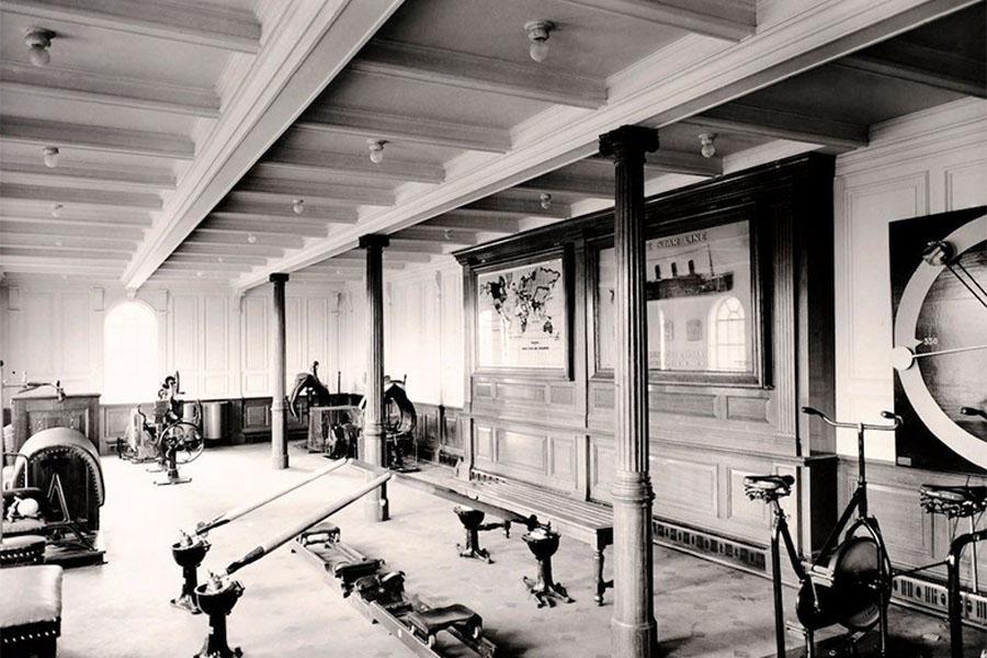 17. Interior Of The Titanic