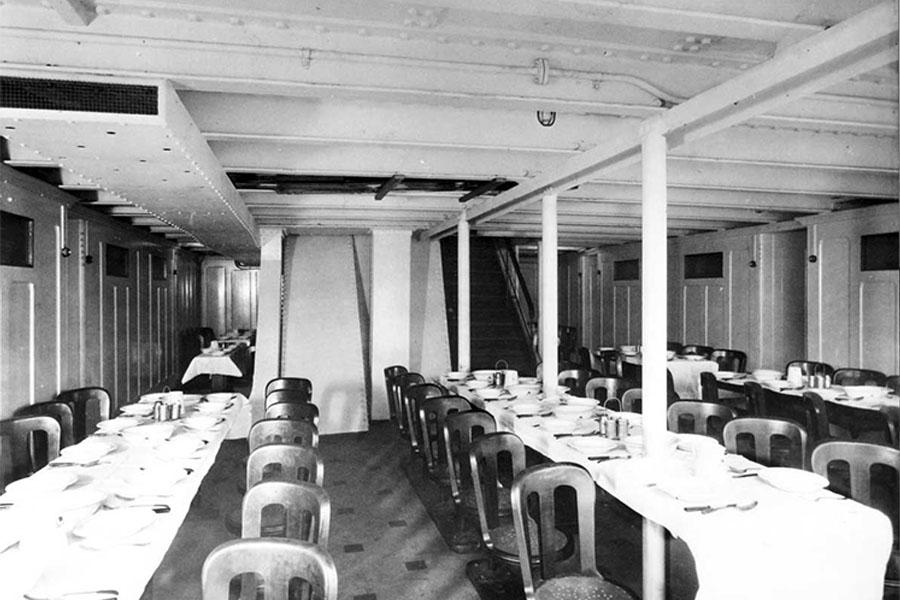 20. Interior Of The Titanic