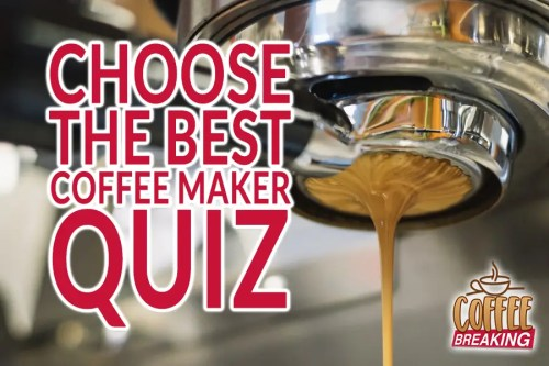 Choose The Best Coffee Maker Quiz