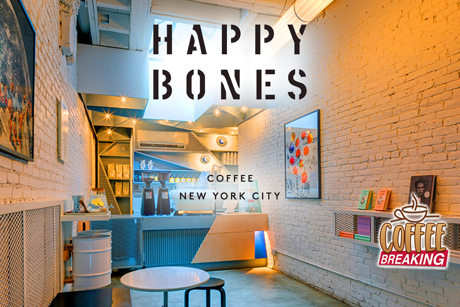4 Happy Bones Top 10 Coffee Shops In NYC
