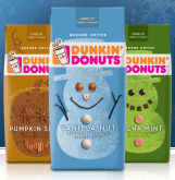 Dunkin Donuts Intros Holiday Flavors 2011