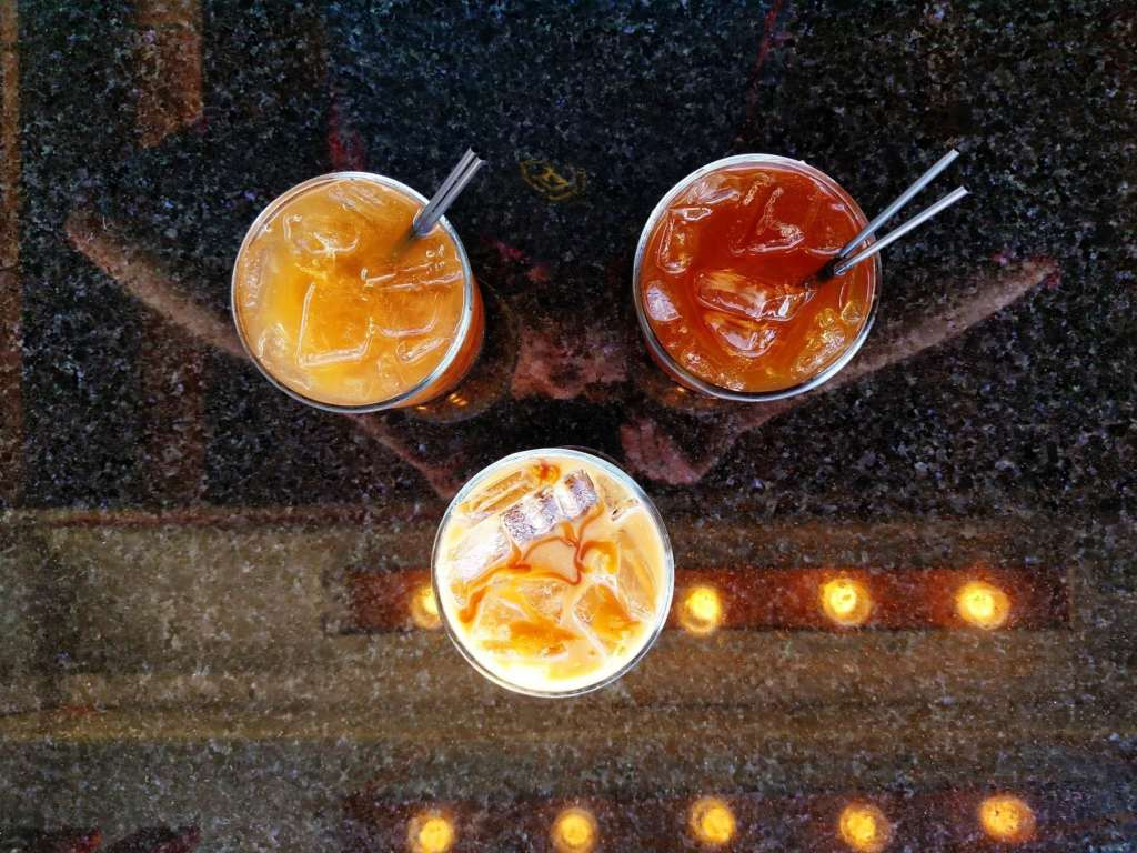 cold brew coffee drinks