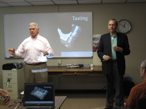 George Howell and Dan Cox kick off the presentation