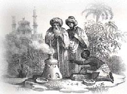Risultati immagini per Le capacità eccitanti della bevanda furono presto sfruttate in ambito religioso per le veglie notturne e la bevanda fu grandemente apprezzata dai mistici sufi nello Yemen, già intorno al 1450.