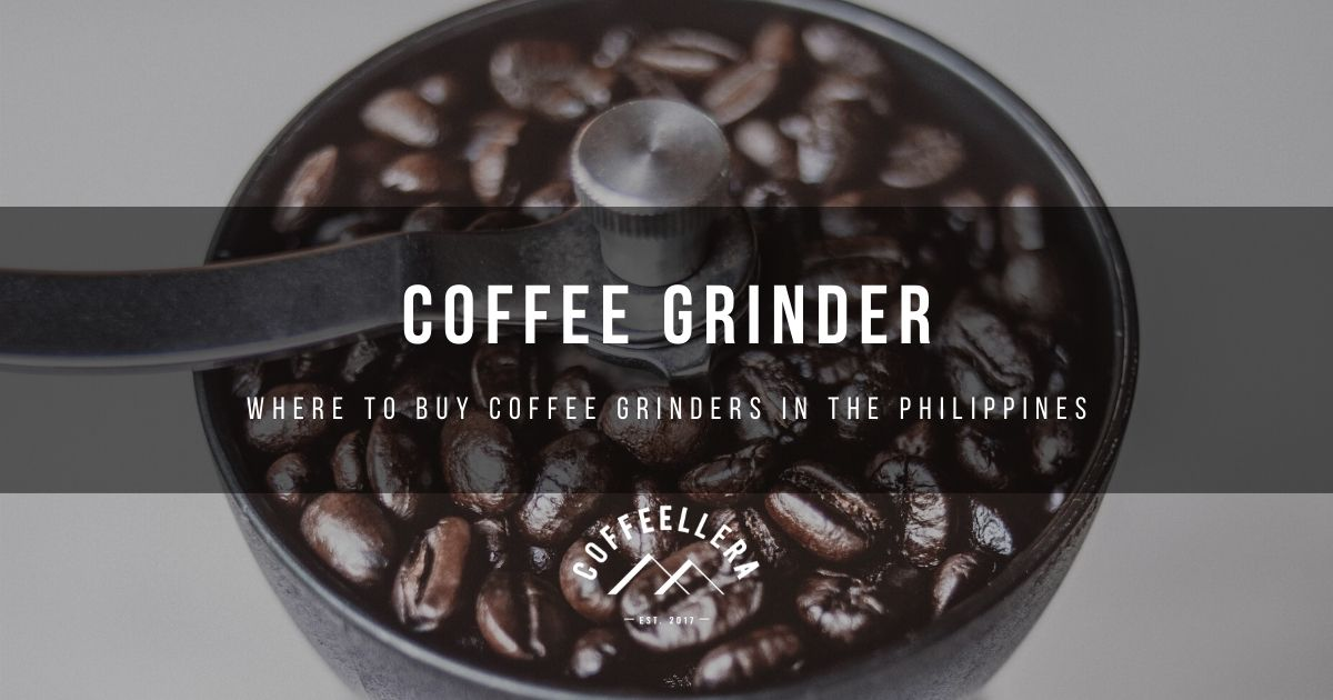 Automatic & Manual Coffee Grinder in the Philippines