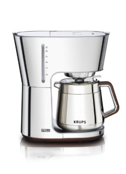 Best Coffee Makers Review Guide -KRUPS KT600 Silver Art Collection Thermal Carafe Coffee Maker
