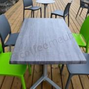 chaise outdoor pour restaurant