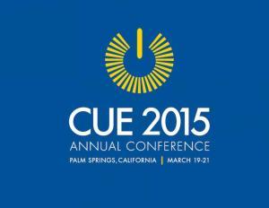CUE 2015 Conference logo