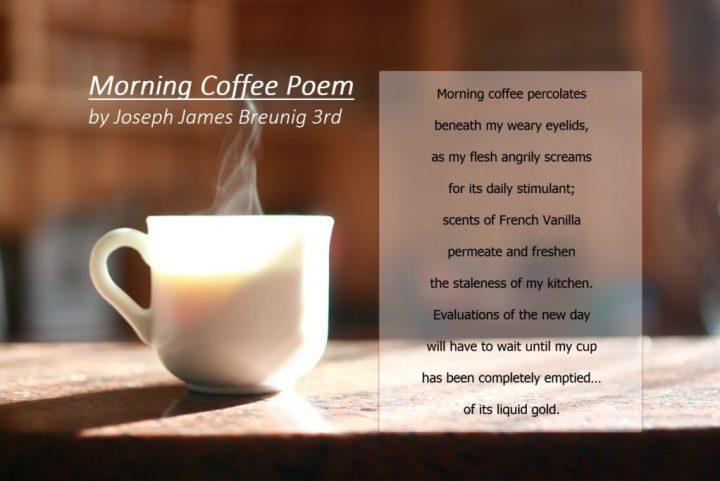 Good Morning Coffee Poems