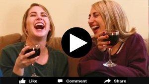 woman who love wine