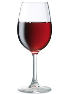 Wine Calories per Glass - Red Wine Glass